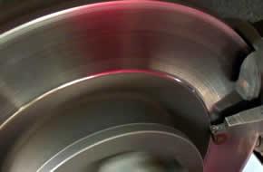 Престъргване на спирачни дискове