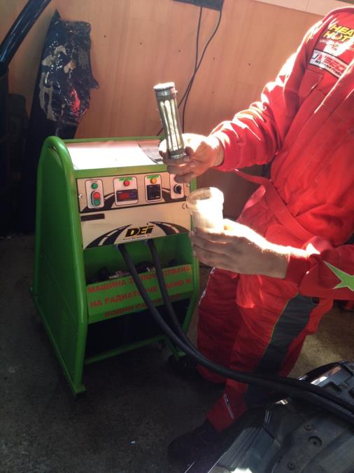 Почистване на радиаторчета на парно 3
